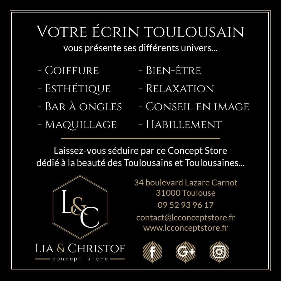 Ouverture LC Concept Store Toulouse, nouvelle boutique Toulouse centre-ville, Toulouse actu